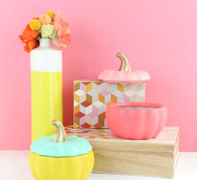 Colorful thanksgiving DIY