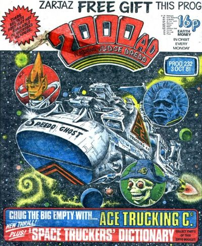 2000 AD 232, Ace Trucking