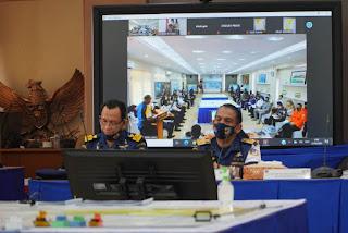 Table Top Exercise Awal Satukan Persepsi Unsur Gakum TSS  Selat Sunda dan Selat Lombok