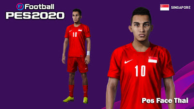 PES 2020 Faces Faris Ramli by PESFaceThai