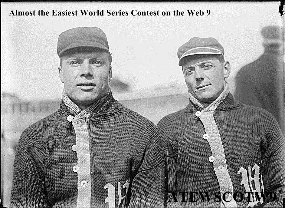 9th Annual Almost the Easiest World Series Contest on the Web