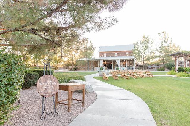 Shenandoah Mill Gilbert, AZ Wedding Venue backyard photo by Micah Carling Photography