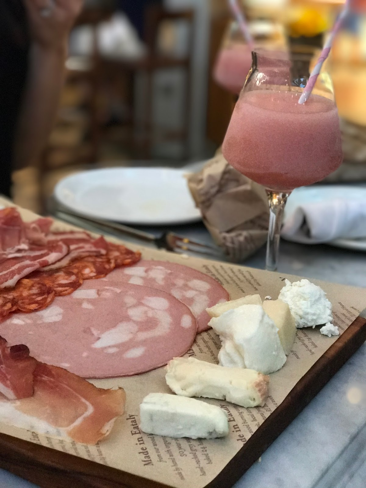 where to find frose in boston, eataly, summer drinks, outdoor drinks