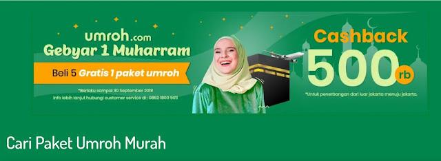Paket Promo Umroh Murah
