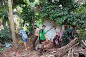 Warga Talagening dan Babinsa Bantu Wujudkan Rumah Layak Huni