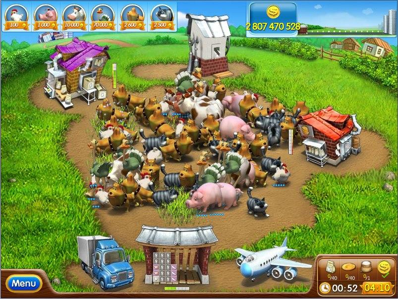 Farm Frenzy Time Management Mod Apk