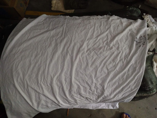 giẻ lau trắng cotton A3