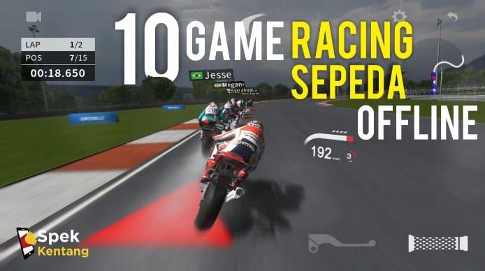 10 Game Racing Sepeda Offline Terbaik di Android 2020