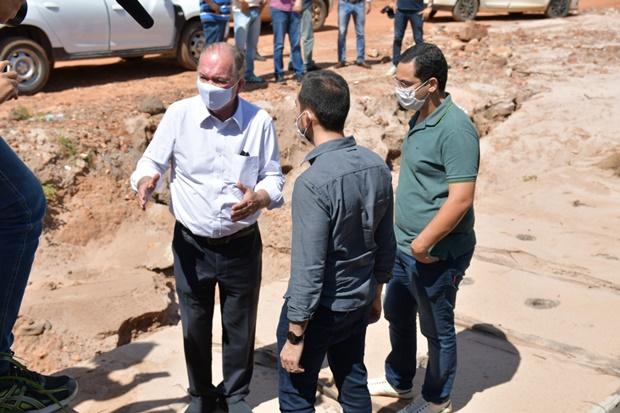 Leão promete força-tarefa para analisar projeto do Rio dos Cachorros