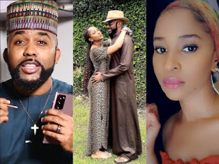 Banky W, Adesua Etomi In Lovedup Photo