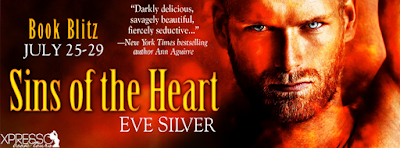 Giveaway, Sins of the Heart, Eve Silver, Bea's Book Nook