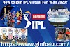 How to Join IPL Virtual Fan Wall 2020 in the UAE?