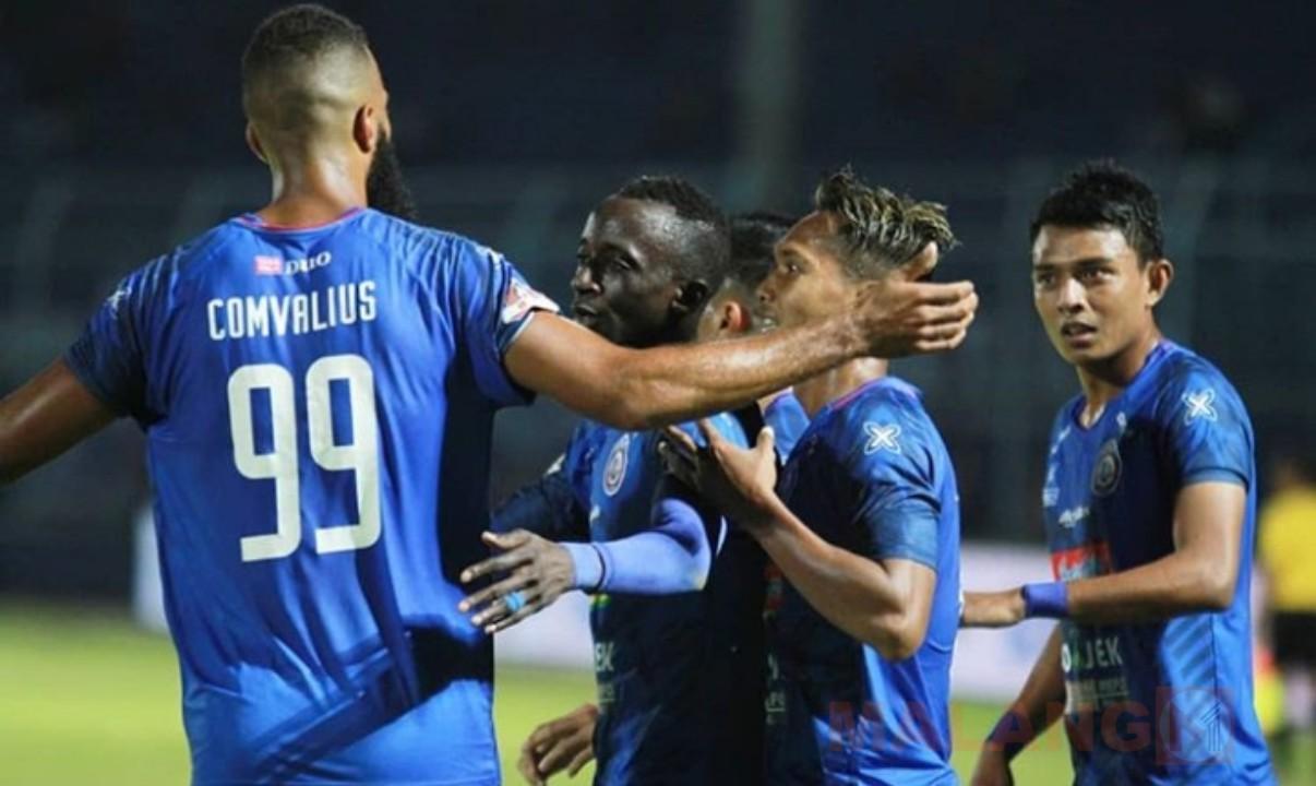 Ganyang Badak Lampung, Konate Cetak Hat-Trick Untuk Arema FC