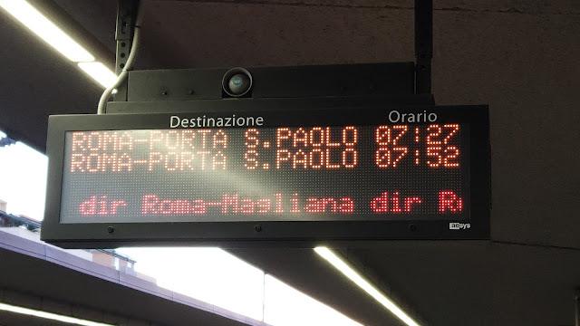 I disagi della Roma-Lido dell 6 febbraio