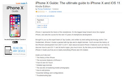 iPhone X Ultimate Guide Book