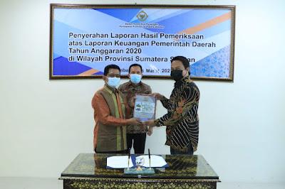 Tercepat Se-Indonesia Serahkan LKPD dan Terima LHP LKPD TA 2020 Prabumulih Raih WTP KE 8 Berturut-Turut