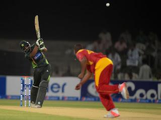 Pakistan vs Zimbabwe 1st T20I 2015 Highlights
