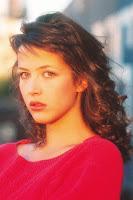 A young Sophie Marceau