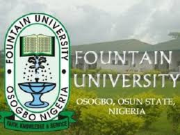 Fountain University Osogbo FUO 2020/2021 Post graduate Admission form