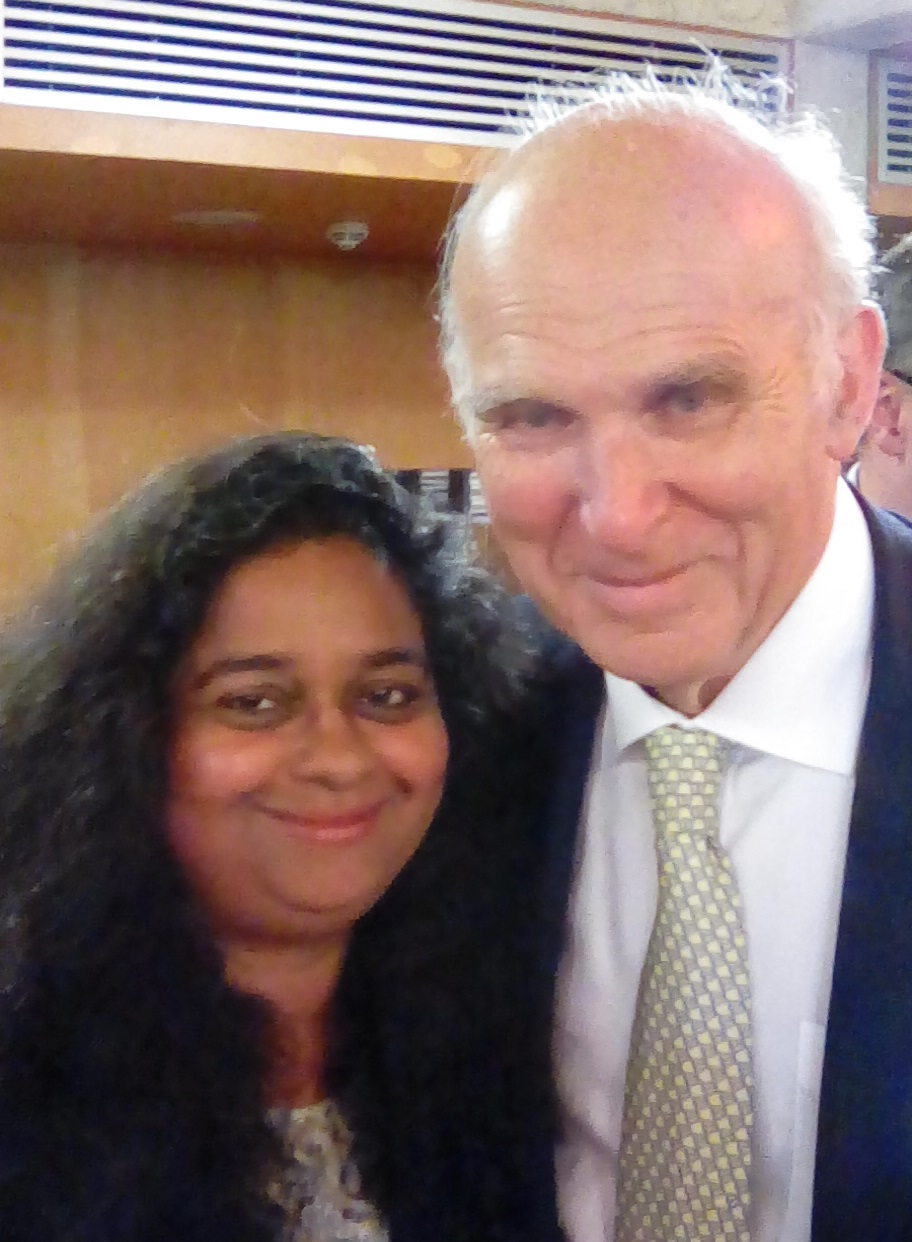 Vince Cable was in stonking form at his first Lib Dem event as leader