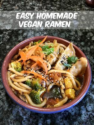 Easy Homemade Vegan Ramen
