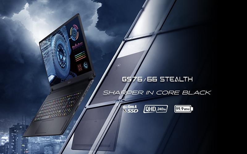 MSI GS76/66 Stealth