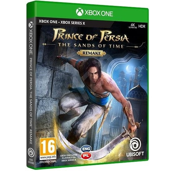 Prince of Persia The Sands of Time Remake Xbox One Cover