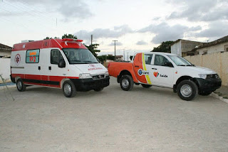 Pavimentação de ruas e veículos para a Saúde são entregues em Cuité