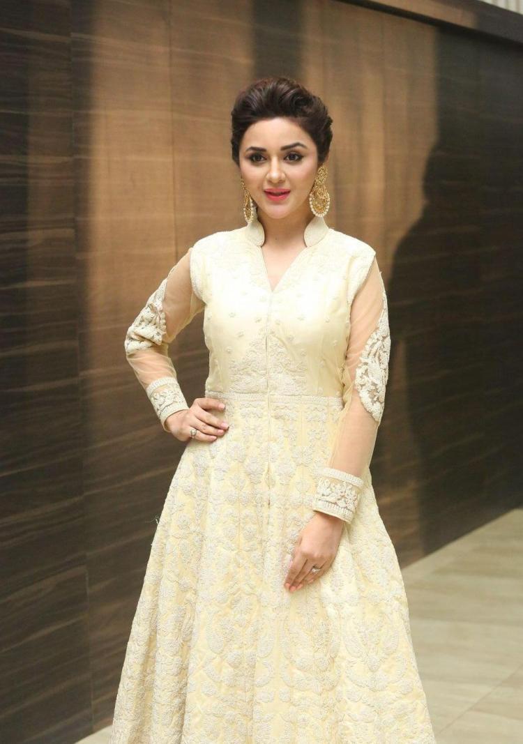Kannada Actress Ragini Nandwani Hot Photoshoot In White Dress