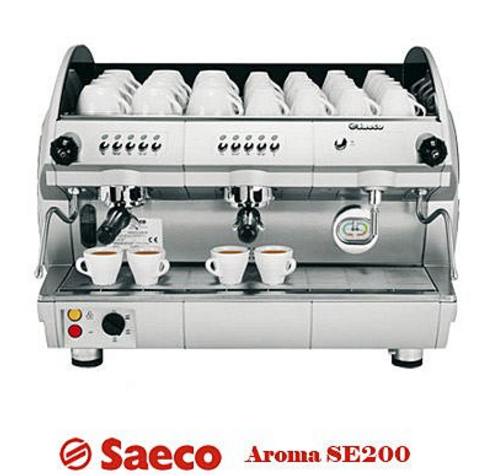 Saeco Aroma SE 200 Commercial Coffee Machine 2 Groups