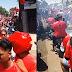 Viral Konvoi Warga Solo Bawa Bendera PDIP Seusai Gibran Menang