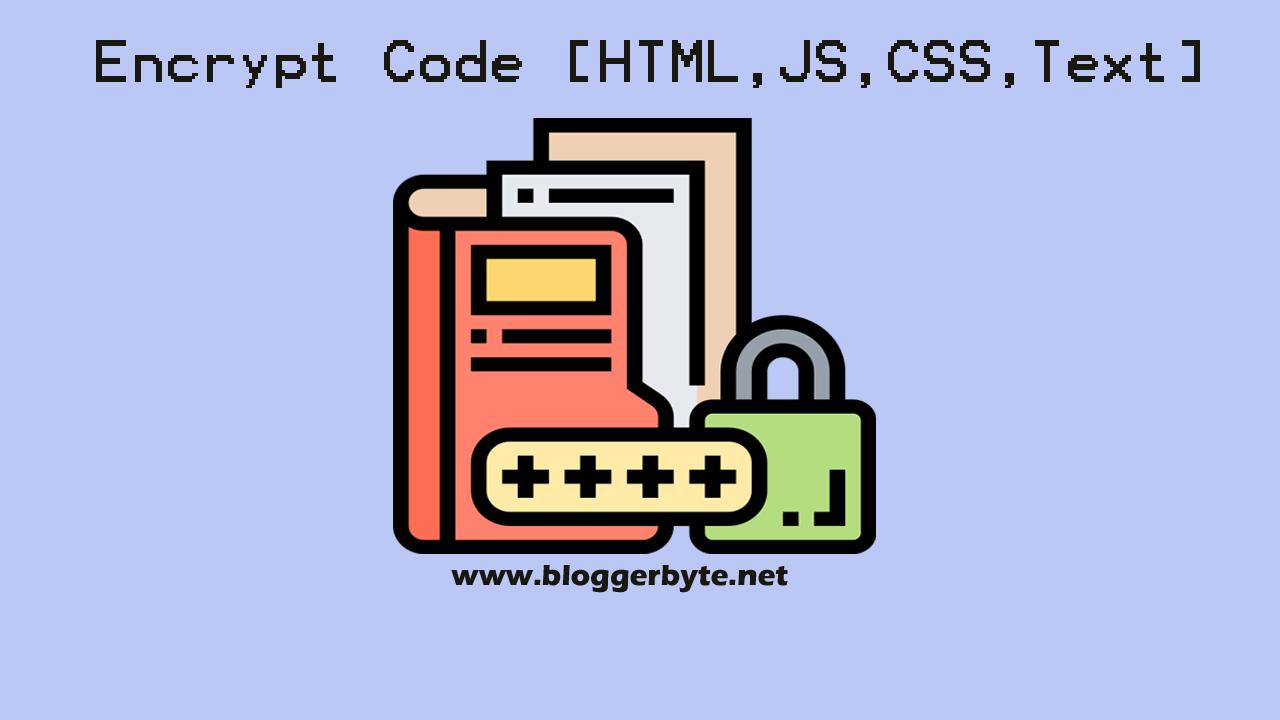 Code encryption into String
