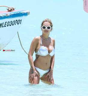 Rita Ora in Silver Bikini 2 ~ Celebs.in Exclusive Celebrities Picture Galleries
