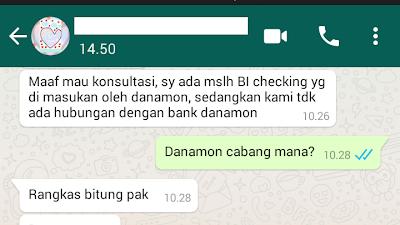 Sedangkan Kami Tidak Ada Hubungan Dengan Danamon
