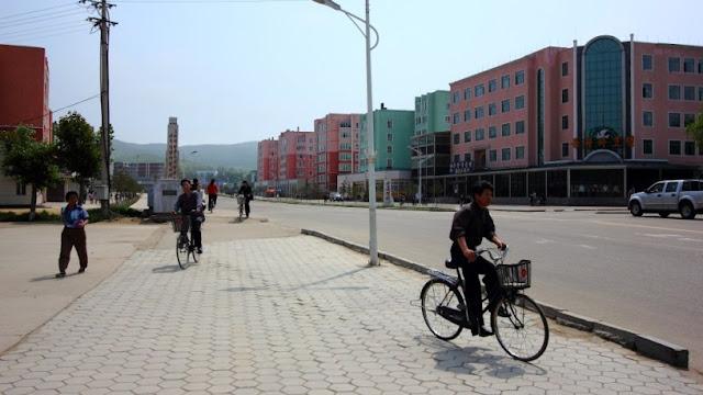 Image Attribute: A street in Rason SEZ