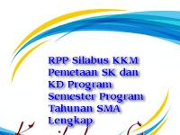 Download RPP Silabus KKM Pemetaan SK dan KD Program Semester Program Tahunan SMA Lengkap