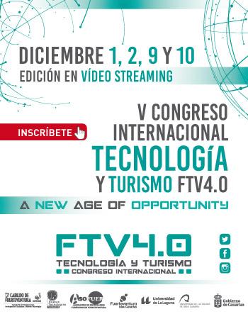 El Congreso Internacional de Tecnología y Turismo Fuerteventura 4.0 regresa el miércoles, día 9, con el panel 'Financiación en tiempos de Covid'