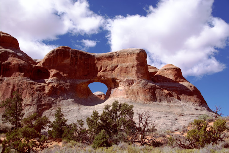 Tunnel Arch - Arches National Park