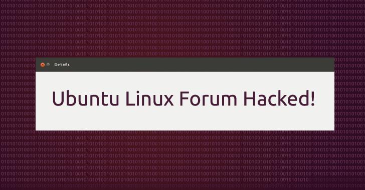 Ubuntu Linux Forum Hacked! Once Again