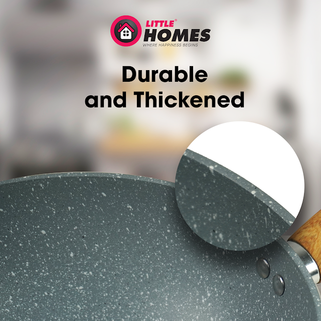 Little Home Jo's Marble Cookware Feature - Durable Material