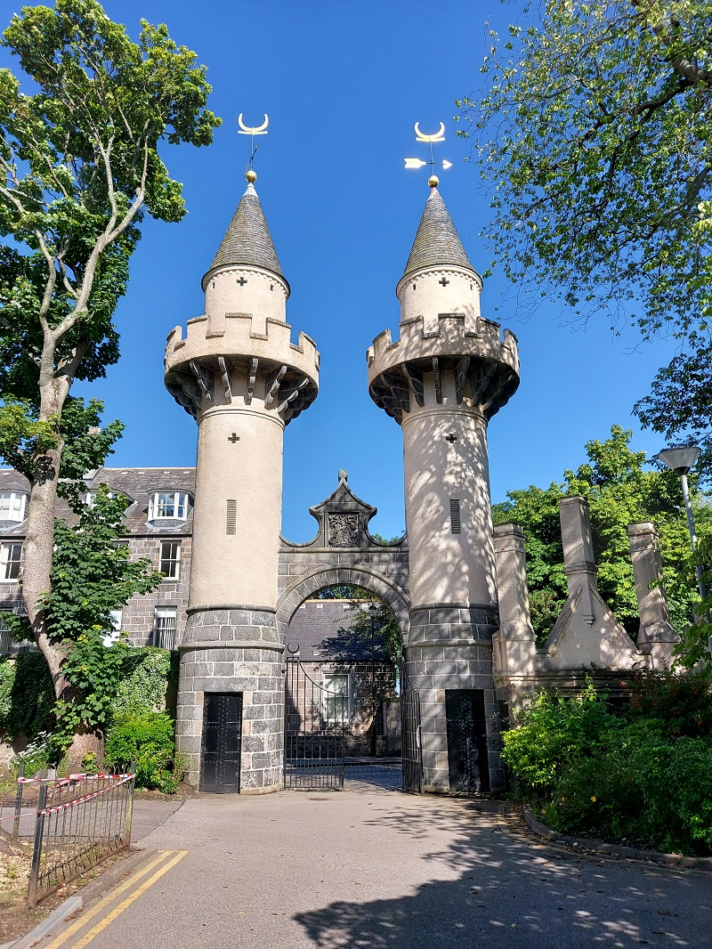 Powis Gate, by the University in Old Aberdeen