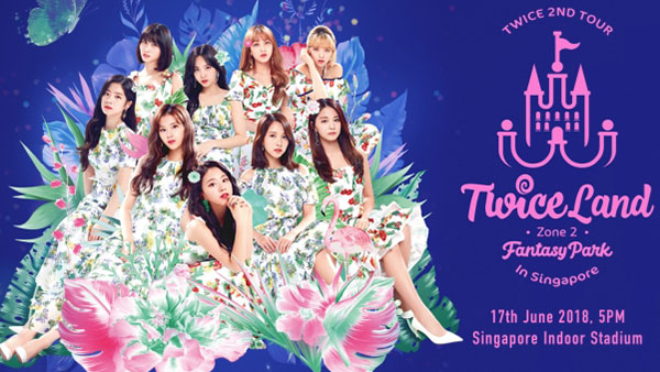 Download Concert Show Korea TWICE 2nd Tour 'TWICELAND Zone 2: Fantasy Park'