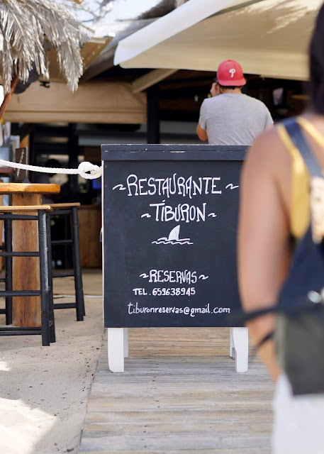 places to eat  formentera  El Tiburon