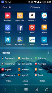 Download UC Browser apk for android