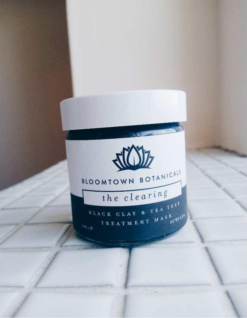 Bloomtown Botanicals The Clearing Treatment Mask