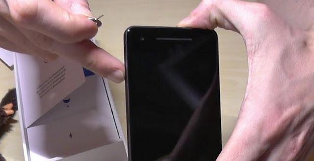 Google pixel 2 xl sim card size
