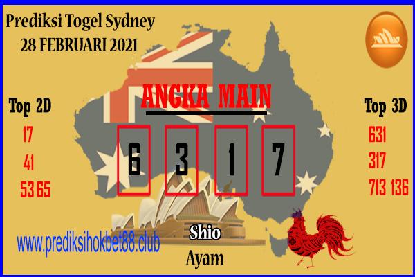 Bocoran Togel SDY 28 Februari 2021