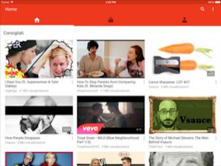 YouTube: Guarda & Scopri si aggiorna alla vers 14.28