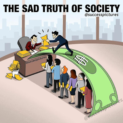 The sad truth of society