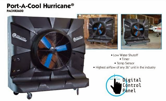 the port-a-cool hurricane 3600 is energy efficient  it requires only 11 4  amps for pump and motor operation, making operation costs a fraction of  that of